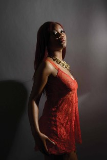 Photo by Mike Chaiken of Karlene Lindsay Designs. Model Jasmine Bunn.